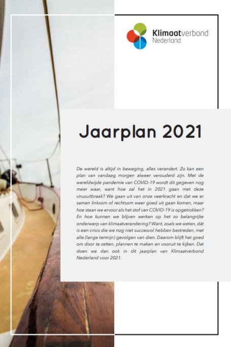 Jaarplan 2021 - Klimaatverbond Nederland