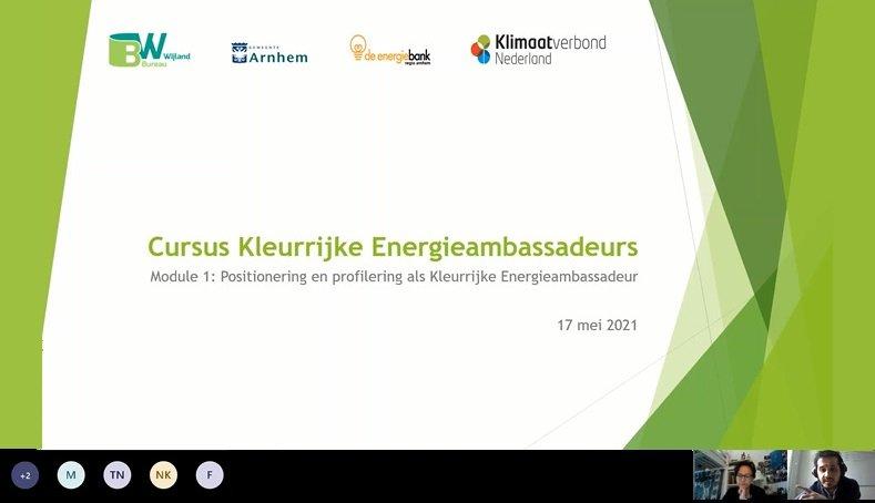 Kleurrijke Energieambassadeurs - Gemeente Arnhem